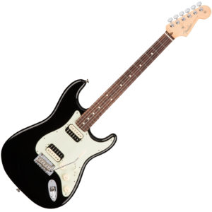 HH Shawbucker Stratocaster Black