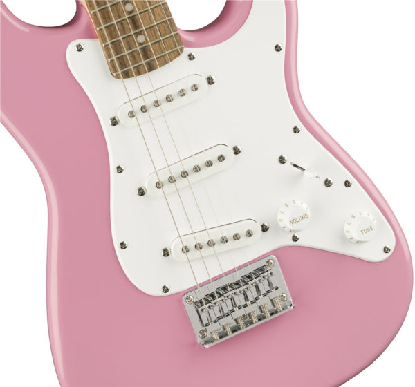 Squier Mini Stratocaster Pink