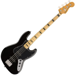 '70s Jazz Bass Black
