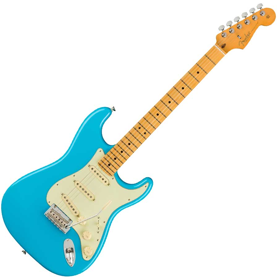 Stratocaster Miami Blue Rosewood