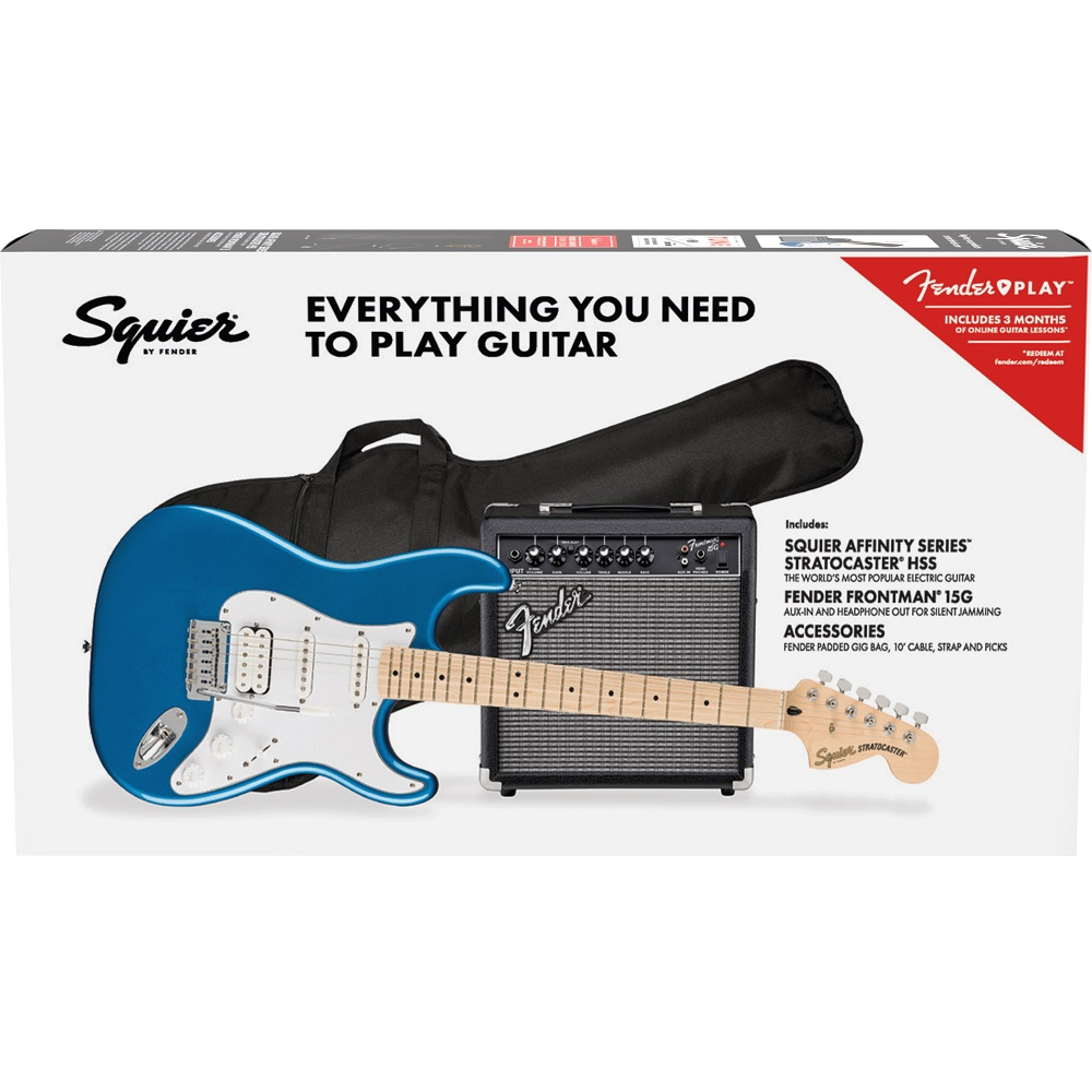 Stratocaster Electric Guitar Pack