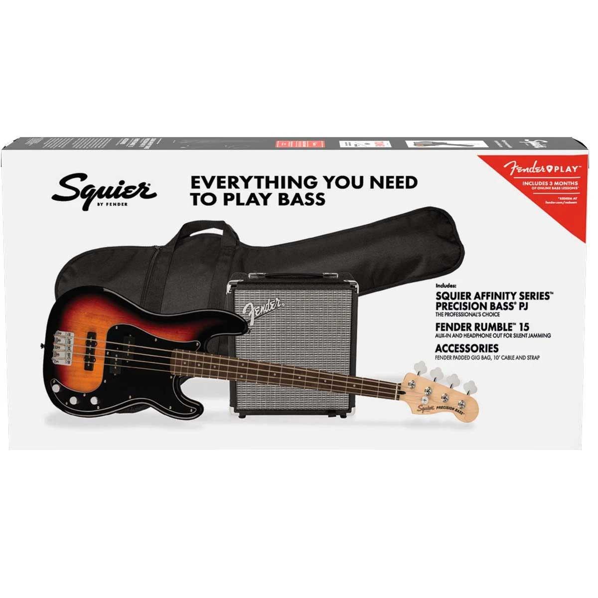 PJ Bass Guitar Pack